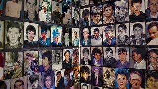 Жертвы резни в Сребренице