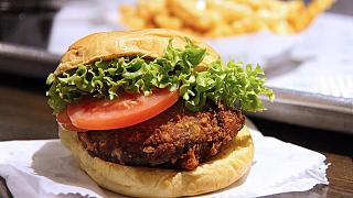 Un veggie burger
