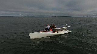 زورق يعمل بالطاقة الشمسية يبحر من هلسنكي - 2020/07/08