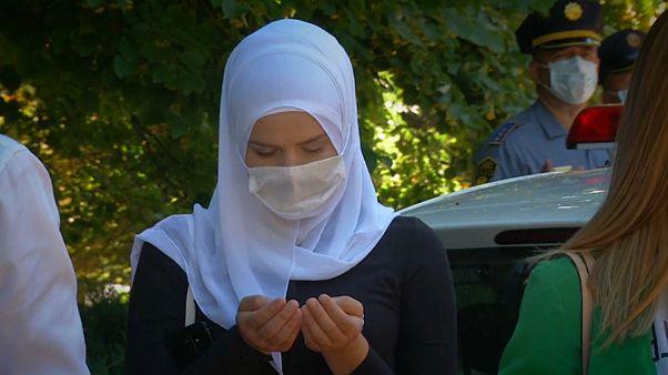 Tributo en Sarajevo a víctimas del genocidio de Srebrenica