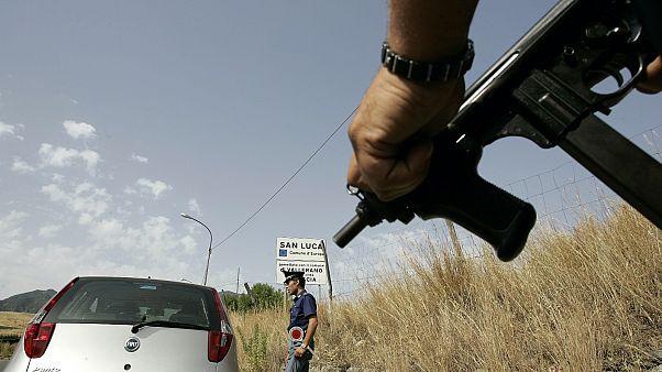 Csendőrségi ellenőrzés Calabria térségében
