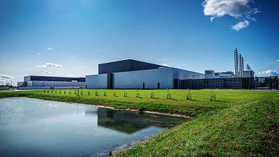 Facebook's data centre in Odense, Denmark.