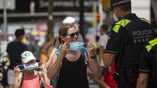 El uso de las mascarillas es obligatorio en Cataluña