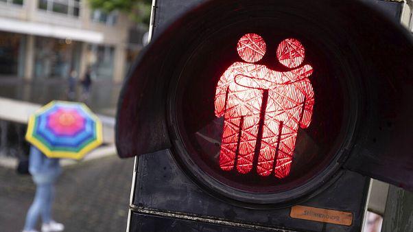 Neue LGBT-Ampeln in Bielefeld