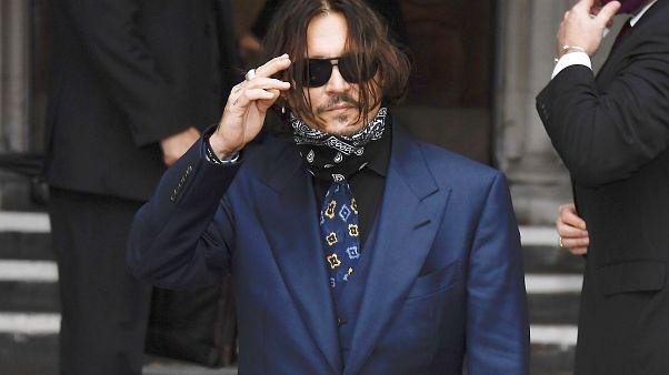 Hollywood yıldızı Johnny Depp