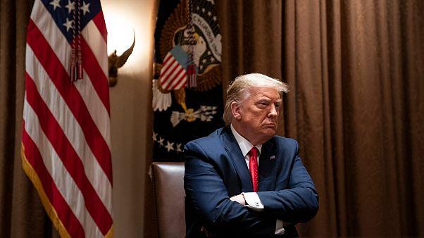 ترامب خلال اجتماع في البيت الأبيض - 2020/07/09