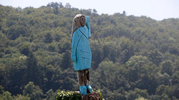 تمثال ميلانيا ترامب
