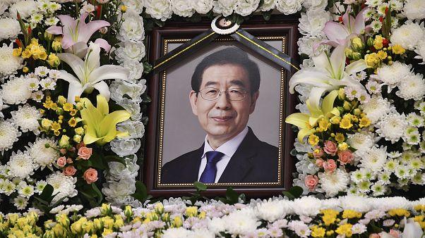 Фотография мэра Сеула Пак Вон Суна