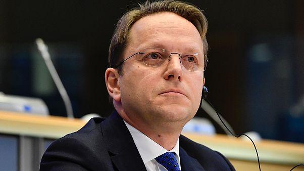 Avrupa Komisyonu'nun Genişlemeden sorumlu üyesi Oliver Varhelyi
