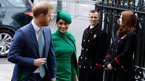 ميغن ماركل وزوجها الأمير هاري