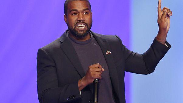 ABD'li rapçi Kanye West'in seçim kampanyası: Aşıya ve kürtaja hayır