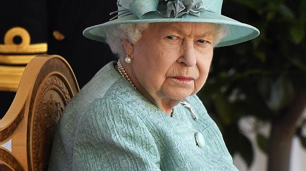 Queen Elizabeth während der offiziellen Feierlichkeiten zu ihrem Geburtstag auf Schloss Windsor im Juni 2020