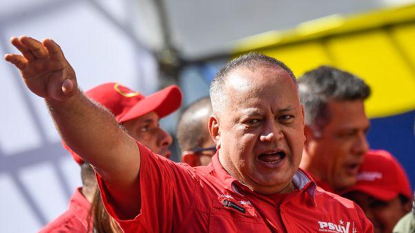 Diosdado Cabello, número dos del poder chavista en Venezuela, da positivo a la covid-19