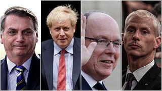 En imágenes: ¿Qué políticos de todo el mundo han sido contagiados con COVID-19?