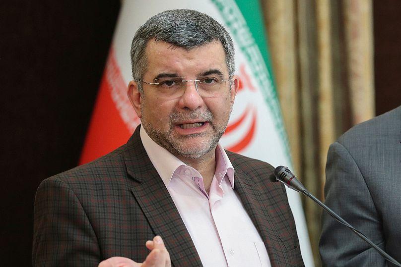 Présidence iranienne, via AP Photo