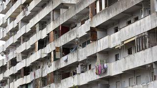 Scampia es uno de los suburbios más desfavorecidos de Nápoles