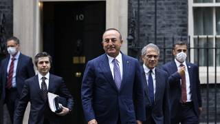 Dışişleri Bakanı Mevlüt Çavuşoğlu İngiltere'de