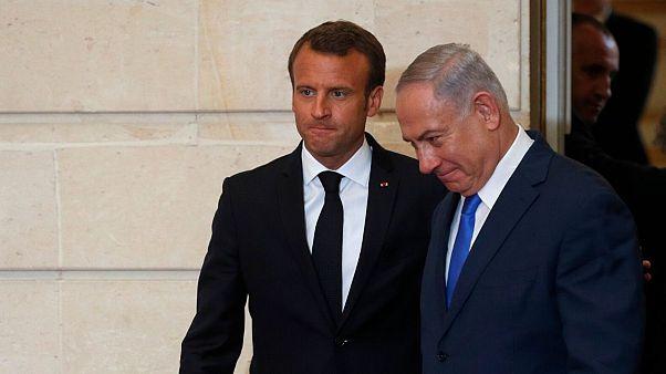 ماکرون از نتانیاهو خواست تا از الحاق کرانه باختری صرفنظر کند