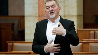 Koncz Ferenc az Országgyűlésben, 2020. április 21-én