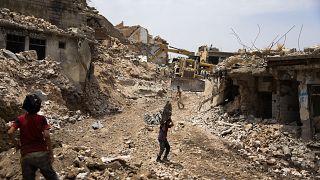من الدمار في الموصل