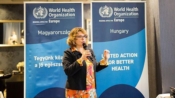 Dr. Ledia Lazeri, a WHO magyarországi irodájának vezetője