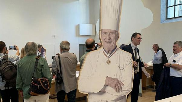 Lyon's International City of Gastronomy during its launch in 2019.