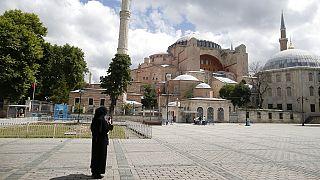 A antiga Catedral de Constantinopla foi construída no século VI