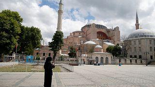 Айя София в Стамбуле.