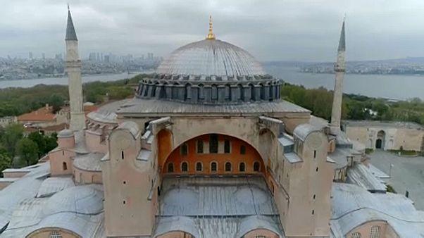 Ismét mecset lehet az Hagia Sofia