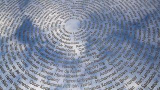 Памятник погибшим в авиакатастрофе MH17 в нидерландском городе Вийфьюзен.