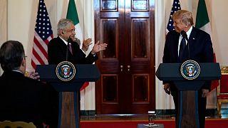تشکر رئيس جمهور مکزیک از ترامپ برای داشتن ادبیاتی «کمتر تبعیضآمیز» درباره مکزیکیها