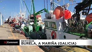 Burela, zona cero del rebrote en A Mariña