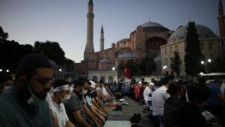 Avrupa Birliği: Tarihi öneme sahip Ayasofya'nın Diyanet İşleri Başkanlığı'na devredilmesi üzücü