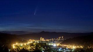 دنبالهدار نئووایز در آسمان مجارستان
