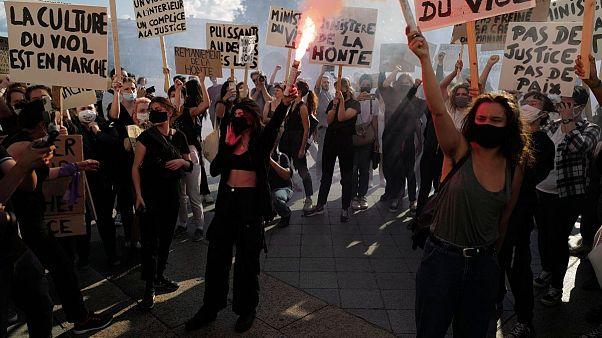 معترضان فرانسوی انتصاب شخصیتهای «زنستیز» و متهم به «تجاوز جنسی» در دولت را محکوم کردند