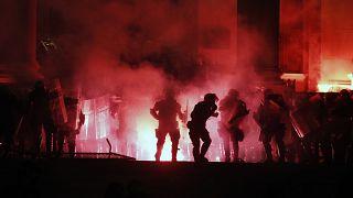 Sırbistan Covid-19 protestoları