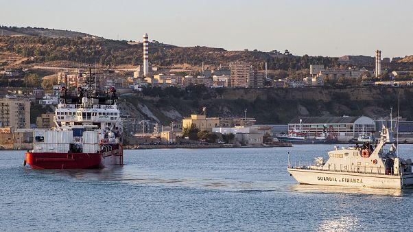 Des centaines de migrants ont accosté à Lampedusa depuis jeudi, selon l'OIM