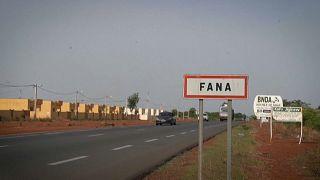 مدخل مدينة فانا في مالي
