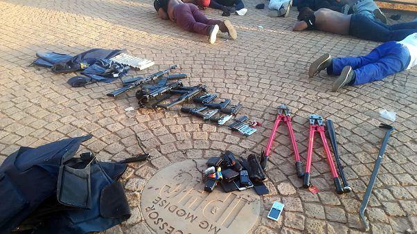 Güney Afrika'daki kilise saldırısında gözaltına alınanlar