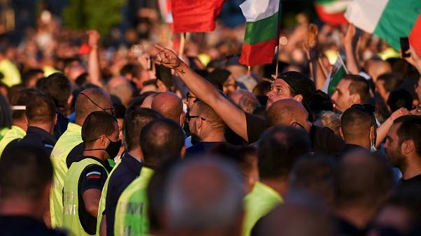 Proteste in Bulgarien