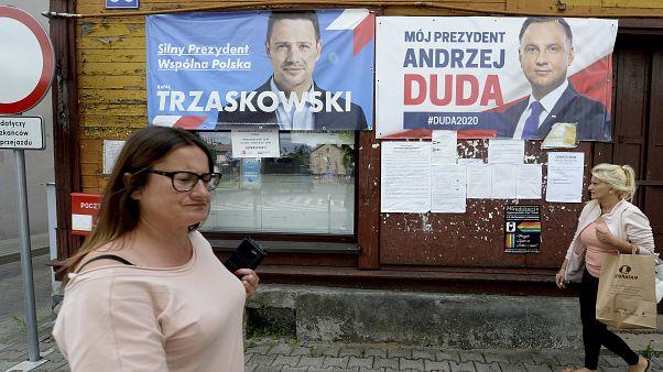 Reñidas presidenciales en Polonia