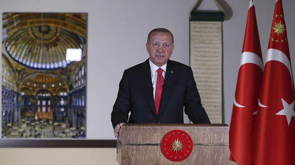 Ερντογάν: Διορθώσαμε το λάθος του 1934 για την Αγία Σοφία