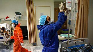 یکی از بیمارستانهای ایران
