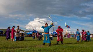 برگزاری جشنواره سنتی «ندام» در مغولستان آنهم بدون حضور تماشاگر