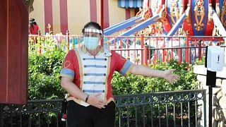 Parque Disney na Florida reabre ao público