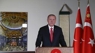 Cumhurbaşkanı Erdoğan, gündemi değerlendirdi.