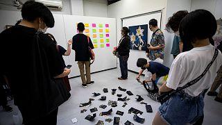 شاهد: معرض فني في طوكيو يشجع زواره على سرقة محتوياته