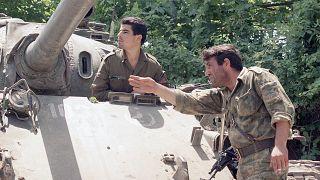 Soldati dell'Azerbaigian. Luglio 1993