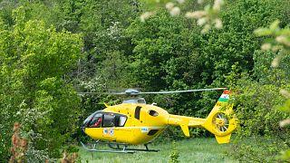 Mentőhelikopter (illusztráció)