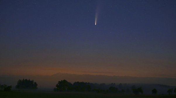 Der Komet Neowise ïm Allgäu